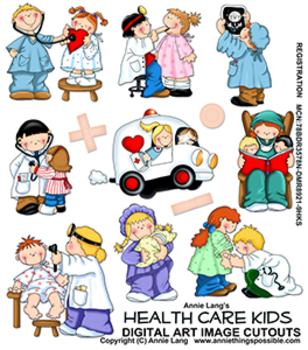 Health Care Kids Clipart
