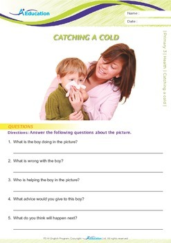 Health - Catching a cold - Grade 3