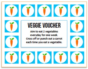 Health Challenge: 2 Veggies a Day for 1 Week