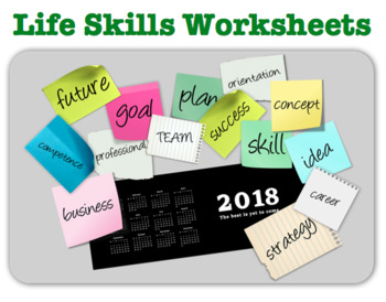 Life Skills Packet (Posters, rubrics, word searches)