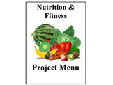 Health Class Nutrition and Fitness Project Menu