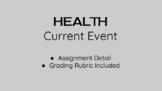 Health Current Event Assignment