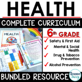 Health Curriculum Bundle 6th Grade Health | Mental Health
