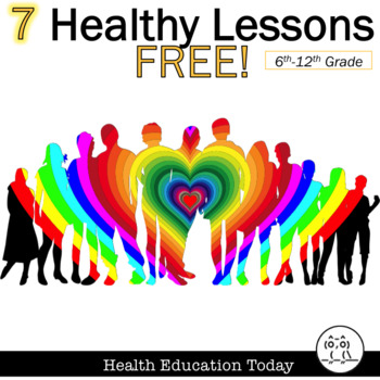 Healthy Lesson: Activities for Teens FREE! Bundle for Anyo