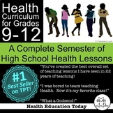 Health Curriculum High School 9-12: 183 Lessons can be Ful