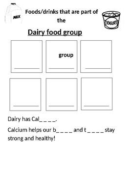 Health- Dairy Food Group