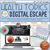 Health Digital Escape Room, Smoking, Alcohol, Health Topics