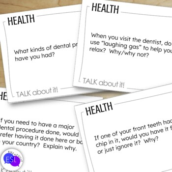 Health Discussion Topic