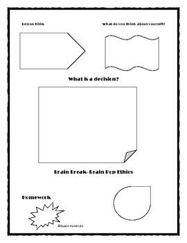 Health Doodle Notes Part 2