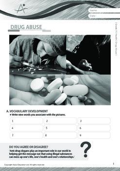 Health - Drug Abuse - Grade 11