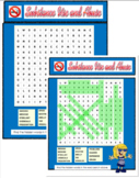 Health - Drugs, Smoking, Alcohol Word Search Word Scramble