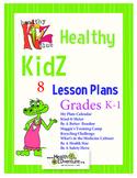 Health Lesson Plan Bundle K-1
