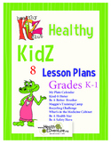 Health Lesson Plan Bundle K-1