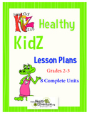 Health Lesson Plan Bundle 2-3