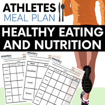 Balanced diet plan for athletes