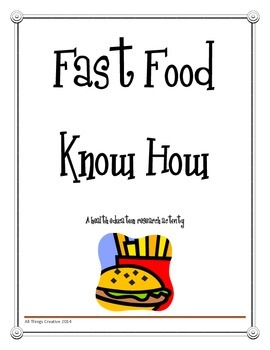 Health Education - Fast Food Restaurant Research