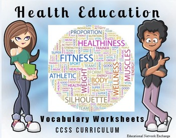 Health Education Vocabulary Worksheets