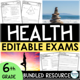 Health Exams Bundle   Health Tests Assessments