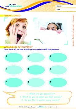 Health - Feeling Scared - Grade 2