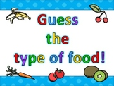 Health - Food Freebie - Guess the Food!