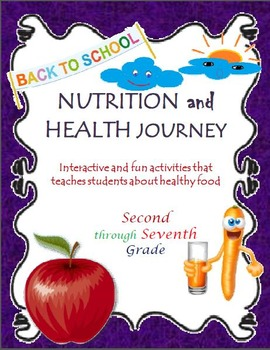 Back to School: Nutrition and Health Interactive Activities