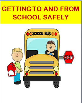 """School Safety-""""Getting To and From School Safely""""- Fun Maz"""