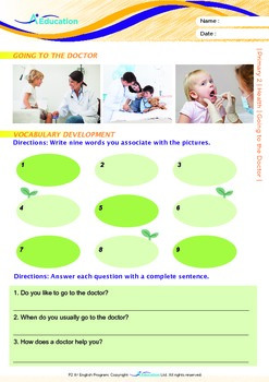 Health - Going to the Doctor (II) - Grade 2