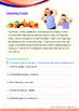 Health - Healthy Food - Grade 1 (with 'Triple-Track Writin