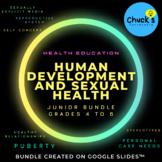 Health - Human Development and Sexual Health Bundle create