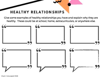 Health - Human Development and Sexual Health - Gr. 3 - Relationships/Development