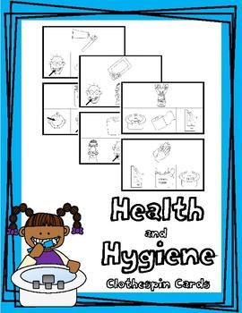 Health & Hygiene Clothespin Cards