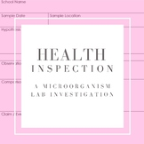 Health Inspection: A Microorganism Lab Investigation