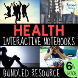 Health Interactive Notebook Bundle - Middle School Health