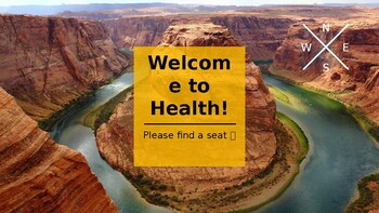 Health Introduction Powerpoint