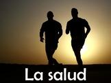Health (La Salud) Vocabulary Power Point in Spanish (46 slides)