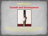Health Lesson: Growth and Development