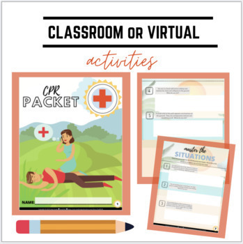 CPR and Choking Unit and First Aid Unit: notes, activities and assesments