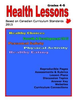 Health Lessons Grade 4-6