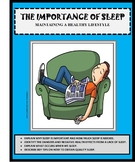 Health - Life Skills - THE IMPORTANCE OF SLEEP - Health Lesson, Emergency Lesson