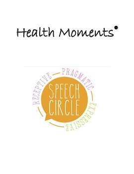 Health Moments Intro