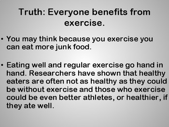 Health Myths Explained