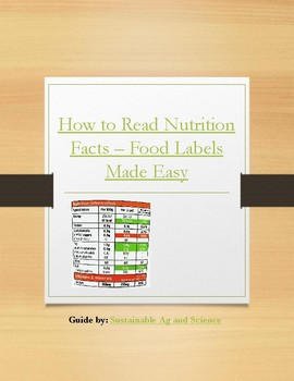 Health Nerd:  Video Guide - How to Read Nutrition Facts - Food Labels Made Easy