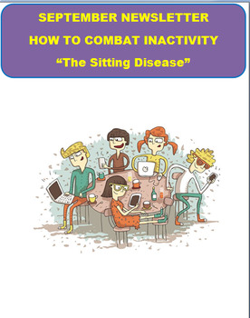 September Health Newsletter-How to combat daily inactivity- 2 activities