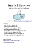Health & Nutrition Math and Literacy Activity Bundle