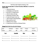 Health- Nutrition and Physical Activity Test