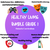 Health - Ontario Healthy Living Bundle - Grade 1