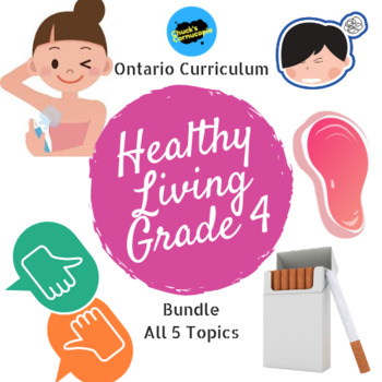 Health - Ontario Healthy Living Bundle - Grade 4