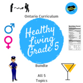 Health - Ontario Healthy Living Bundle - Grade 5