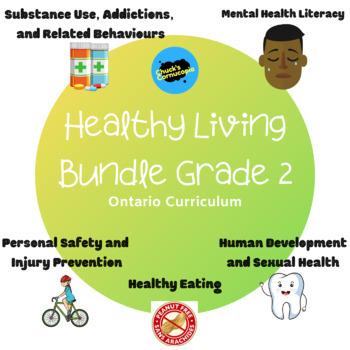 Health - Ontario Healthy Living Primary Bundle- Grades 1, 2, and 3