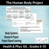 Health & PE Project: The Human Body Systems Project